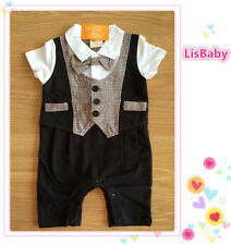 Baby Boy Summer Formal Suit One Piece【FREE POSTAGE】New - Closing Down Sale