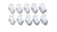 Garanimals Baby Toddler Boys or Girls Lowcut Ankle Socks 10-Pack ~ ~ SELECT SIZE