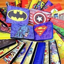 COMICS DC MARVEL THE AVENGERS HULK/IRON MAN THOR/CAPTAIN AMERICA/SUPERMAN PURSE