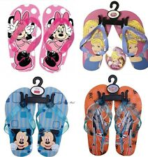 Official Disney Princess Mickey Minnie Mouse Holiday Beach Flip Flops Slippers