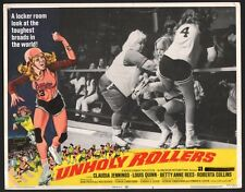 Unholy Rollers 11x14 Lobby Card #3 1972 Roller Derby