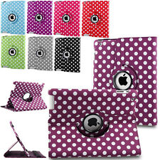 Luxury 360 Rotating Magnetic Stand Folio Case Leather Smart Cover For Apple iPad