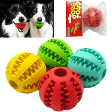 Soft Rubber Chew Ball Toy For Dogs Dental Bite Resistant Tooth Cleaning Dog Toy