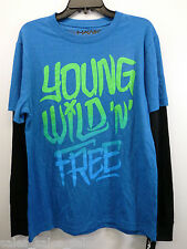 Tony Hawk Mens Tee Shirt Size Small Large XL Young Wild n FREE