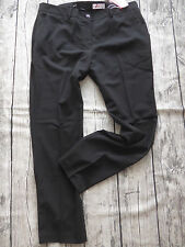 Sheego Cloth Trousers Chinos Trousers Size 40 - 58 Long Sizes Black (651) NEW