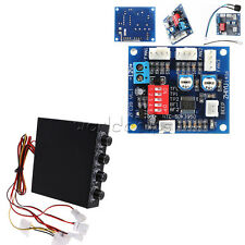 "3.5"" 12V PWM PC 4 Channel CPU Fan Temperature Control Speed Controller Module"