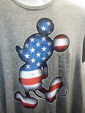 Mickey Mouse Patriotic T-shirt American Art (s-2XL) Official Disney LATEST!