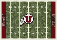 University of Utah Utes Football Field Rug