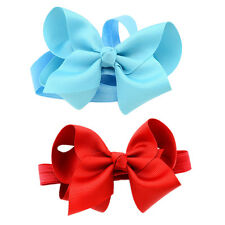 Elastic Band Headband Flower Girls Hairband Bow Soft knot Hair Accessories 1Pcs