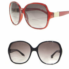 Women's Oversized BiFocal Reading Sunglasses Butterfly Designer Style Sun Reader