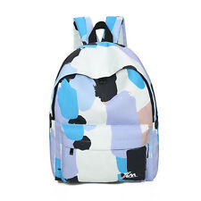 Big Print Canvas Student School Shoulder Laptop Bag Backpack for Girl Travel