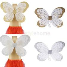 MagiDeal Girls Ribbon Butterfly Angel Fairy Wing Baby Shooting Party Fancy Dress