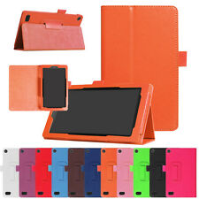 Smart Sleep Folding Stand Leather Case Cover For Amazon Kindle Fire 7 2017