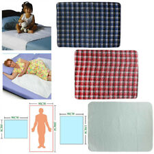 Washable Underpads Bed Reusable Pad Waterproof Incontinence Hospital Home