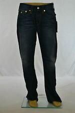 True Religion Men's Twisted Torn Boot Cut Jeans ORG NAT Shadow WFLPS New w/ Tag