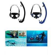 Silicone Snorkeling Scuba Diving Dive Swimming Goggles Mask with Dry Snorkel Set