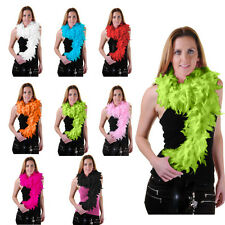 Ladies Feather Boas Party Horror Halloween Fancy Dress Accessory Boa All Colours