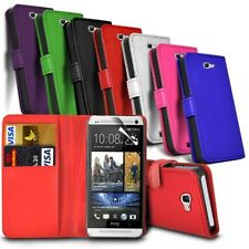 HTC Desire 650 - Leather Wallet Card Slot Case Cover