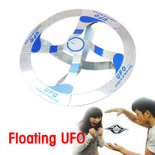 2x Amazing Mystery UFO Floating Flying Disk Magic Creative Trick Saucer Kids Toy