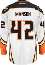 Josh Manson Anaheim Ducks NHL Away Reebok Premier Hockey Jersey