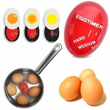Egg Perfect Color Changing Timer Yummy Soft Hard Boiled Eggs Cooking Kitchen FW