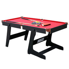 5.8ft Professional Snooker Billiards Table with Snooker and Pool Ball Sets