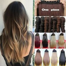Real Thick As Remy Human Hair Extensions Clip In Hair Extensions 3/4Full Head PG