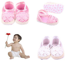 Baby girls Cotton Frework Bowknot Infant Sole First Walker Soft Toddler Shoes