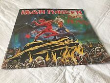 RUN TO THE HILLS - Iron Maiden (Limited Edition Red Vinyl) UK Import 2002 NICE