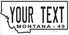 Montana 1949 License Plate Personalized Custom Auto Bike Motorcycle Moped tag
