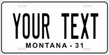 Montana 1931 License Plate Personalized Custom Auto Bike Motorcycle Moped tag