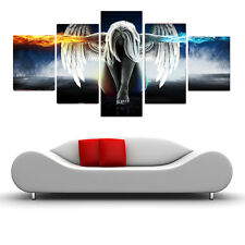 HD Print on Canvas Painting Home Decoration Wall Art angel 5pcs