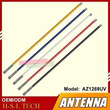 UHF-M Connector Mobile Radio Antenna Dual Band UHF/VHF 144/430Mhz High Gain Car
