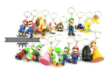 SUPER MARIO BROS 18 keychain CHARACTERS FIGURES action porte-clés keychain new