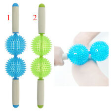 Spiky Ball Trigger Point Muscle Therapy Stick Roller Full Body Massage