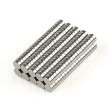 US Stock 50-200 pcs Neodymium Disc Strong Rare Earth Dia 4 mm Fridge Magnets N35
