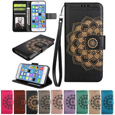 Magnetic Wallet Leather Card Flip Pouch Folding Case Cover for iPhone Huawei LG