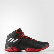 NEW adidas EXPLOSIVE BOUNCE SHOES Black White Red Basketball Shoes BY3787