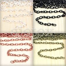 4M Iron Twisted Curb Chain Unfinished Chains 5x3.3mm Jewelry Making Hot
