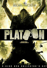 Platoon (DVD, 2006, 2-Disc Set, Collectors Edition) *Used Very Good Condition*