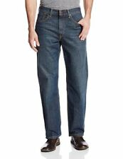 Levis Mens 550 Relaxed Fit Jeans Classic Tapered Leg Big Tall size 42 x 34 NEW