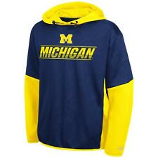 Youth University of Michigan Wolverines Hoodie Pullover Performance Fleece