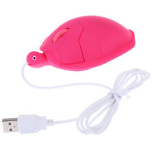 USB 800dpi 3D Wired Optical Cute Turtle Mice Mouse For PC Laptop Portable