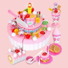 Gift Child Kitchen Toy Cheerful Double 1 PC Girl Birthday Layer Birthday Cake