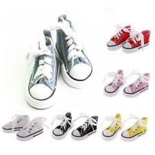 Multi Fashion High Top Canvas Sneaker Shoes with Shoelace for 1/4 BJD AOD Dolls