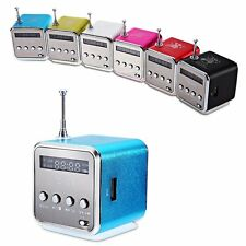 MINI PORTABLE MUSIC SPEAKER MICRO SD TF MP3 PLAYER SUPPORT FM RADIO USB STEREO