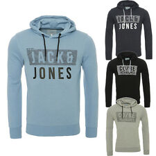 JACK & JONES HOODIE HOODED JUMPER JCOTATE SWEAT HOOD, 3 COLORS, S, M, L, XL, NEW
