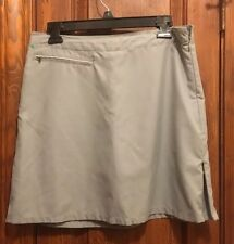 Patagonia Gray skort Skirt Shorts ladies Hiking golf walking Polyester 6