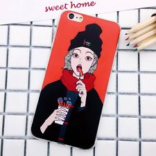 For iPhone7 7 Plus 6 6S Plus South Korean character cartoon girl friend's shell