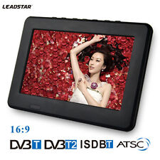 DVB 7 Inches Rechargeable Digital Color TV Television Player TFT-LED Screen LY